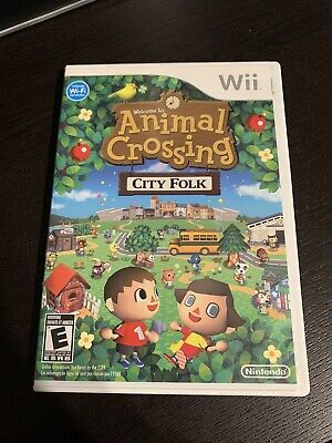 Animal Crossing City Folk Nintendo Wii Complete