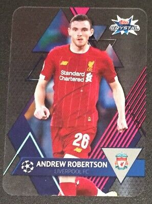 Topps Crystal Champions League 2019/20 Andrew Robertson Base card