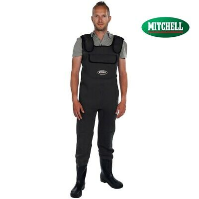 Waders Neoprene Mitchell 3,5mm Pesca a Spinning Mare Torrente