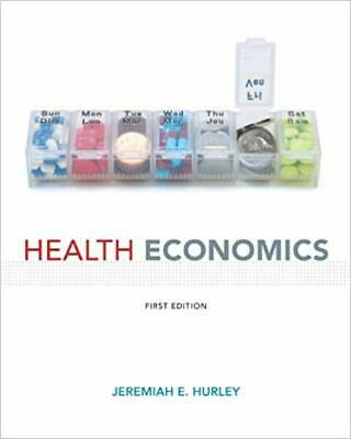 Health Economics, First Edition by Hurley - EBOOK/PDF