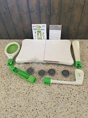 Wii Fit Game With Balance Board Nintendo Wii Great Condition Fitness Health
