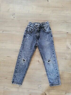 Great Pair Of Boys Grey Skinny Jeans From Next, Age 5!!