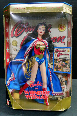 Barbie as Wonder Woman Collector Edition DC Comics Doll, READ DESCRIPTION
