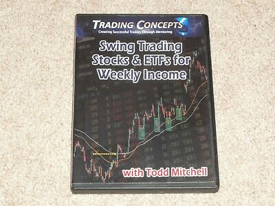 Todd Mitchell Swing Trading Stocks & ETFs for Weekly Income DVD Doc Severson