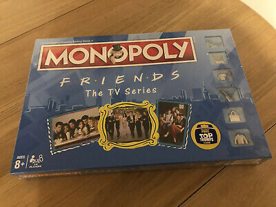 Friends The TV Series Monopoly 2018 Hasbro Board Game Factory,Brand New,sealed