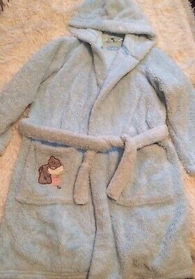 Tatty Teddy Me To You Blue Nosed Bear Super Soft Blue Dressing Gown Age 5-6