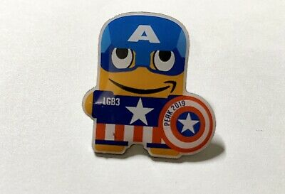 Employee Exclusive LGB3 Peak 2019 Marvel Captain America Amazon Peccy Pin