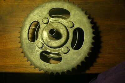 Harley-Davidson Aermacchi 48 CC Rear Wheel Sprocket Hub Used