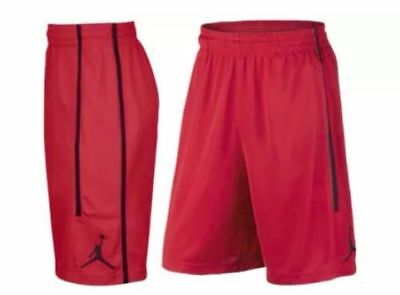 Nike Air Jordan Dri Fit Shorts Red Sz Mens Large L Aa1383-687 New Nwt Fast 🔥