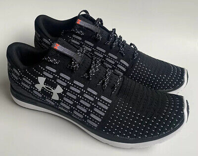 Under Armour Slingflex Rise Grey Black Men Running Shoes Sneakers 3019874-102