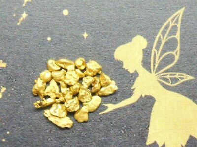 Tooth Fairy Gold Natural Victorian Goldfields Australian Gold Nuggets 1.000g