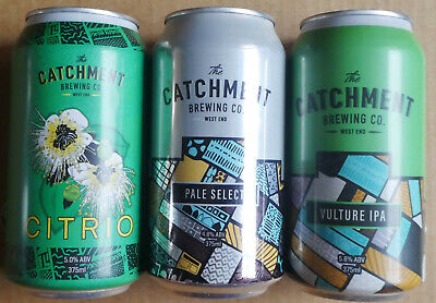 Three Beer Cans from Catchment Brewing Queensland (Lot 3)