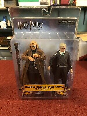 Harry Potter Half-Blood Prince Mad-Eye Moody and Draco Malfoy Brand Figures New