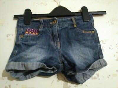 Girls Blue Jean Shirts By Millie Aged 6 Years