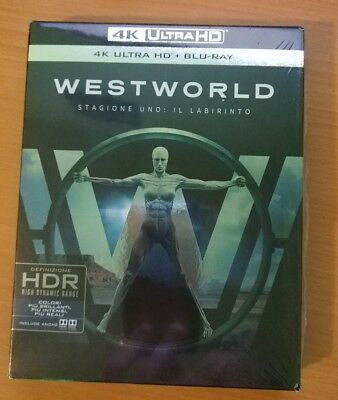 Westworld Primera Temporada - 4K Ultra Hd + Bluray - Castellano - Serie Hdr