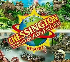 Chessington World Of Adventures THEME PARK TICKET  Sunday 4th OCT  £15 each