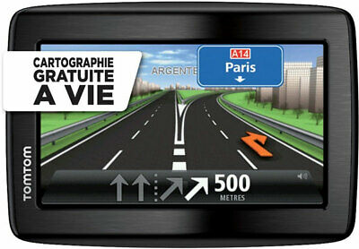 Gps Tomtom Via 130M Cartes Gratuite A Vie France & Europe 45 + Alertes Radars