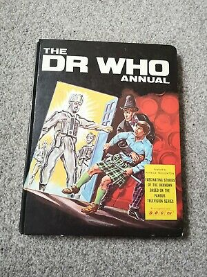 The DR WHO ANNUAL 1968 (Patrick Thoughton)