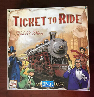 Days of Wonder Ticket To Ride USA by Alan R. Moon Train Adventure Board Game