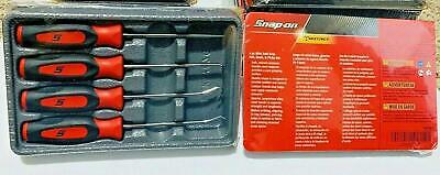 NEW Snap-on™ Red Soft Handled 4pc Mini Awl & Pick SET SGASA204CR Sealed