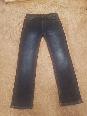 Marks And Spencer Boys Blue Jeans Age 8 - 9