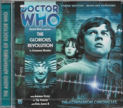 Doctor Who – The Glorious Revolution (CD) Frazer Hines – FREE UK POSTAGE!!