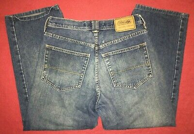 UP Urban Pipeline Classic Straight Leg Blue Jeans boys Mens 30x30 100% Cotton