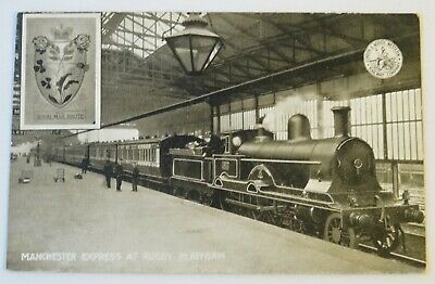 LNWR Manchester Express Official Postcard London North Western Railway - Lot 854