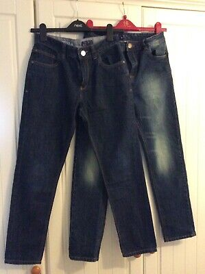 Next Boys Jeans 2 Pairs Aged 12 Years