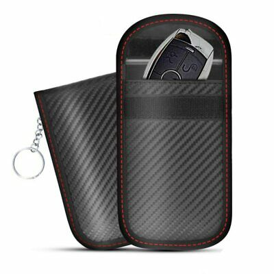 RFID Signal Blocking Bag Cover Case Faraday Cage Pouch For Keyless Car Keys