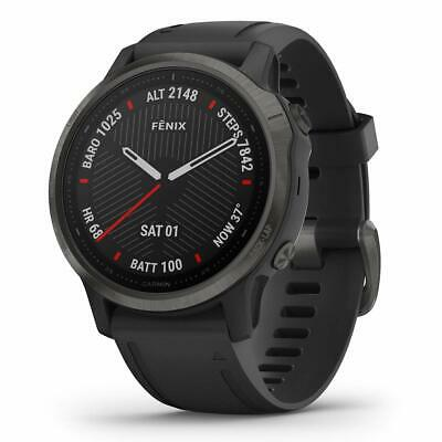 Garmin Fenix 6S Sapphire Multisport GPS Watch Carbon Grey/Black, new with box...
