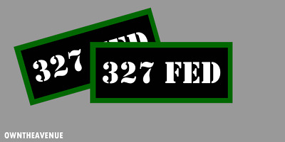 """357 SIG Ammo Can Labels for Ammunition Case 3.5/"""" x 1.50/"""" stickers decal 2PACK"""