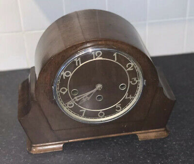 Antique Art Deco Mantle Clock (3 Different Chiming Melodies) Full Working Order.