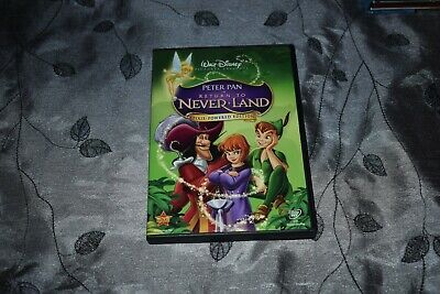 Disney's Peter Pan in Return to Never Land (DVD, 2007, Pixie Powered Edition)