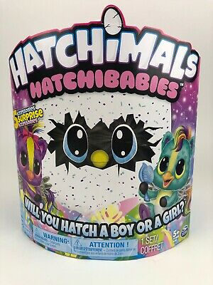 Nip Hatchimals Spinmaster Age 5+ Hatchibabies Ponette Boy Or Girl #6044069