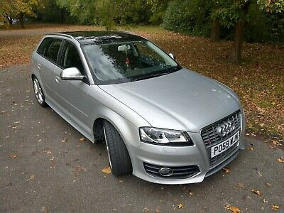 2009 AUDI S3 ONLY 44000 MILES, BLACK HEATED LEATHER Panoramic Sunroof, Bose