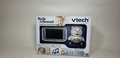 Vtech VM346 Bear Video Baby Monitor with Automatic Infrared Night Vision