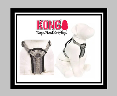 Kong Comfort Padded Dog Harness Xl Extra Large Gray