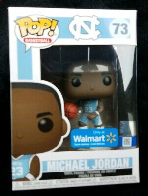 Funko Pop! Basketball Michael Jordan #73 UNC North Carolina Walmart Exclusive