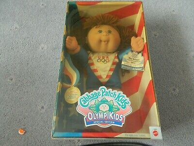 Cabbage Patch Doll In Original Signed Box. . Atlanta Olympikids Gymnastics.1996.