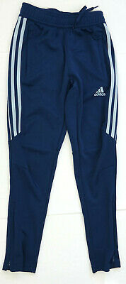 Adidas Climacool Tiro 17 Dark Blue Tapered Joggers Youth Boys  Size Small