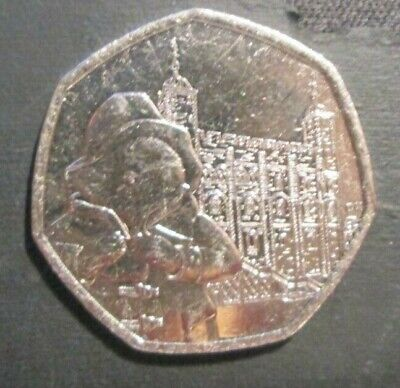 Paddington Bear At The Tower 50p Coin 2019 near Uncirculated from Sealed Bag