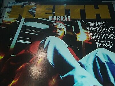 """Keith Murray - The Most Beautifullest Thing in This World , Record 12"""" VG+ 1994"""