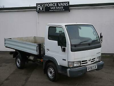 2006 Nissan Cabstar ALLOY DROPSIDE FLAT BED TIPPING TIPPER Tipper Diesel Manual