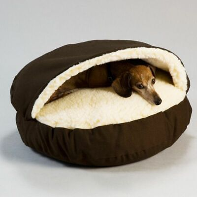 Dog Bed House Kennel Round Nest Cat Mattress Small Medium Dogs Round Cat House
