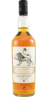Lagavulin 9yo House Lannister Whisky Game of thrones limited edition