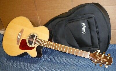 23 Pictures Takamine GN71CE - Nat Acoustic Electric Guitar Great Condition CLEAN