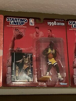 Kobe Bryant Starting Lineup Action Figure (1998), Great New Unopened Condition
