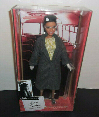 Rosa Parks Barbie Doll Inspiring Women Collection 2019 NEW