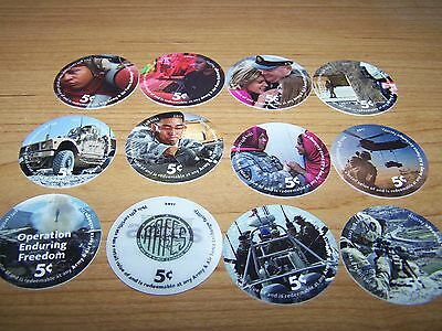 Condition 16K5  AAFES  Pogs from 2017 printing A.U